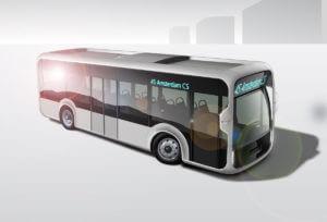 visualisatie duurzame ov bus van de toekomst - 5 jaar