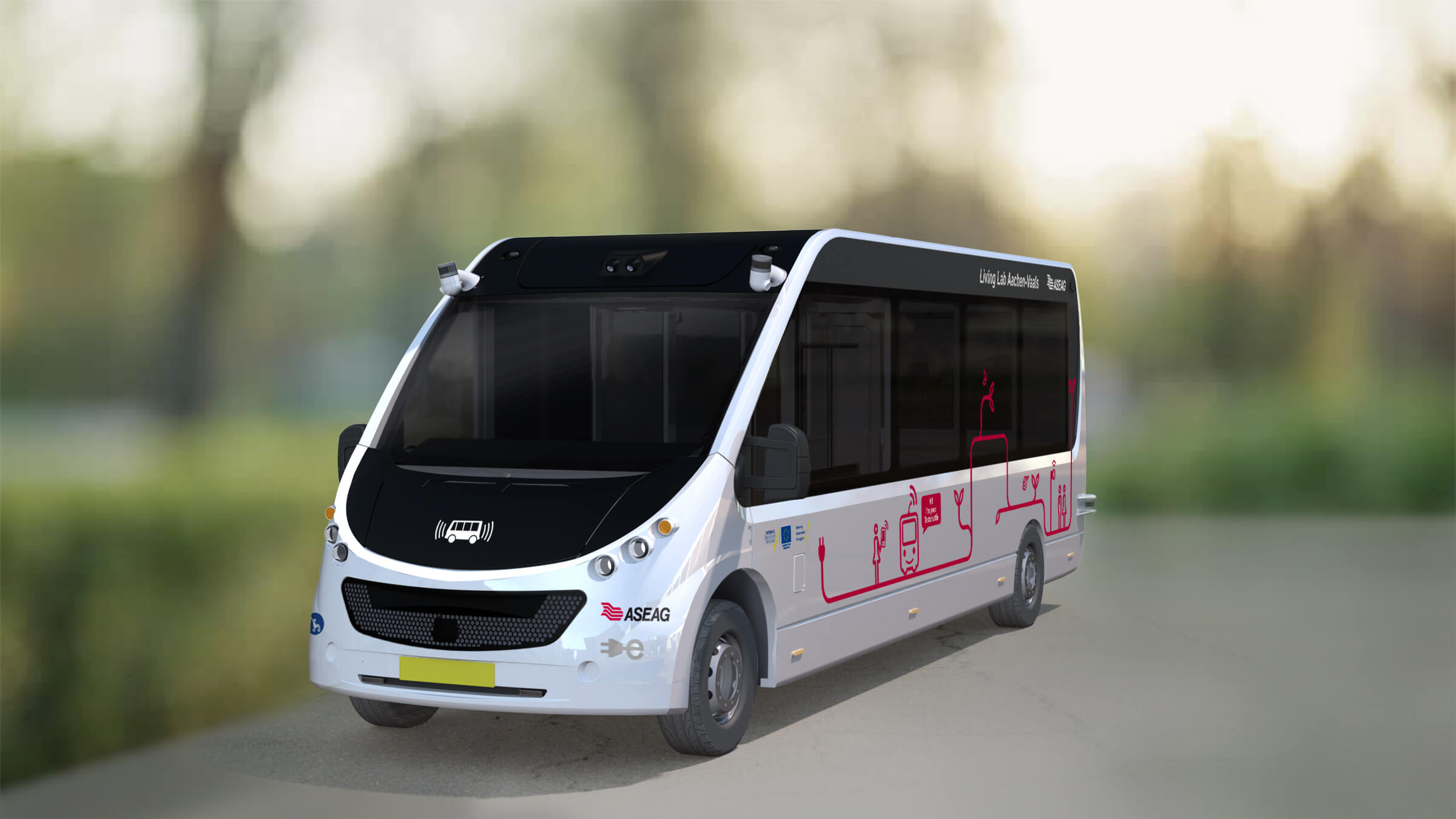 Render Mission autonome bus