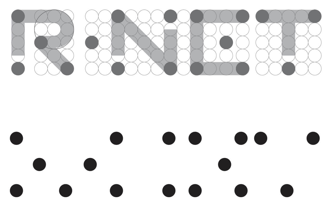 R-net logo stippenpatroon