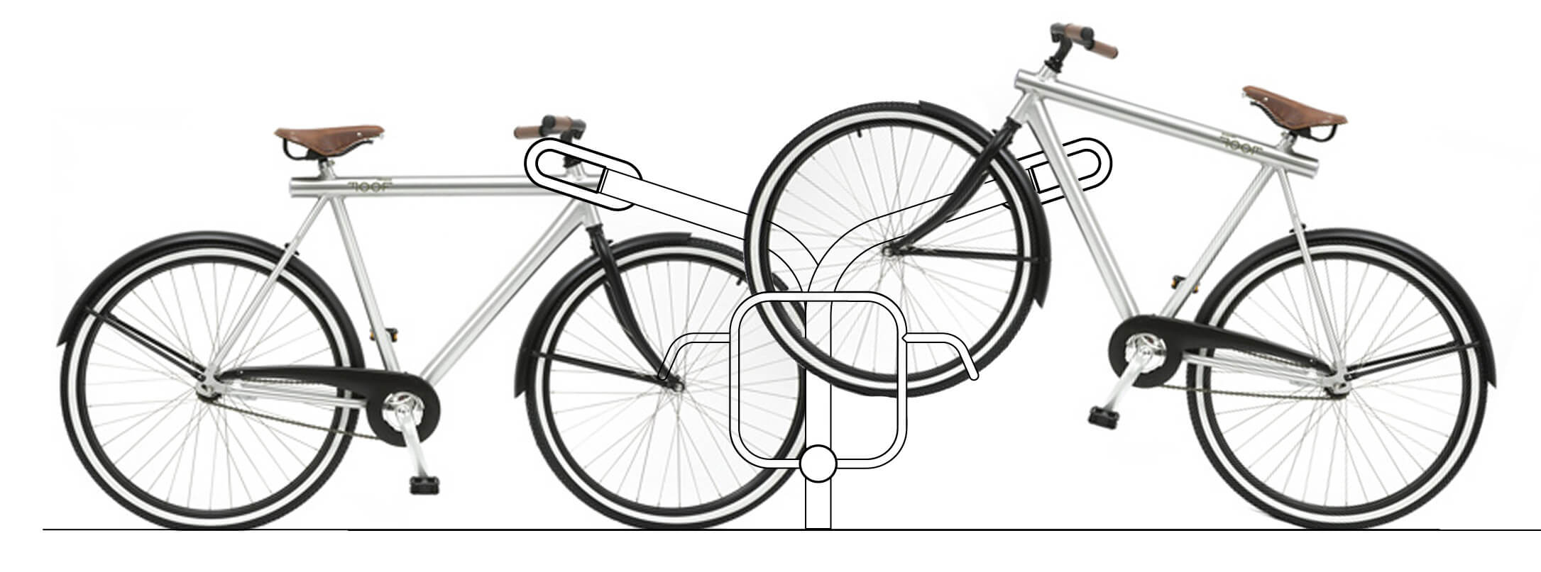 R-Net bicycle element drawing