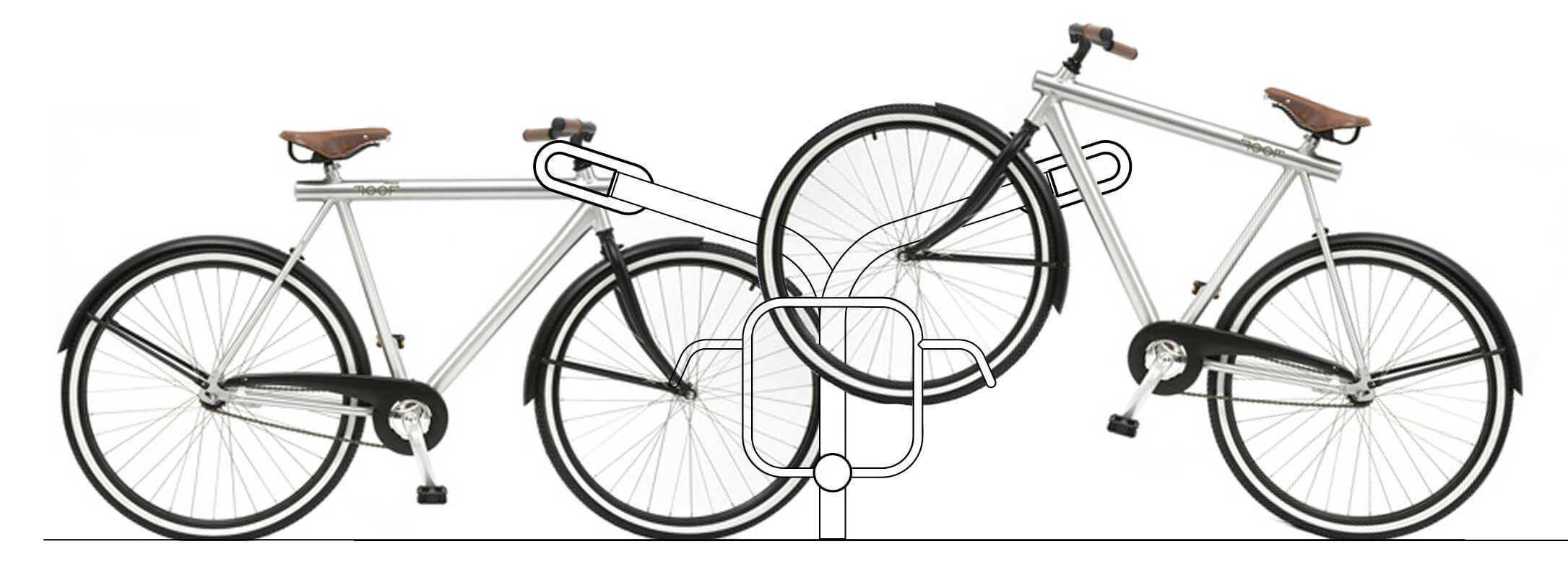 R-Net fietsrek lijntekening