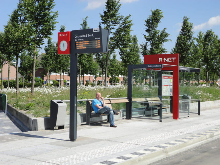 R-Net bus stop