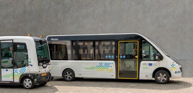 Mission en Wepod autonome voertuigen