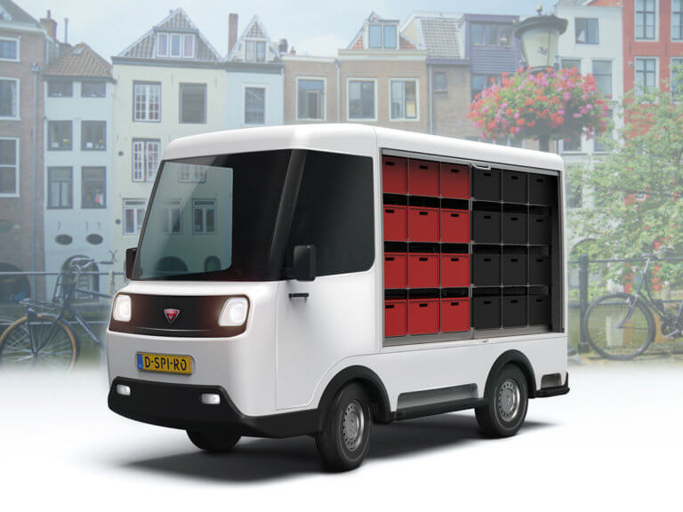 David Spiro Electric delivery van